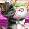 Tom Cat Love Kiss