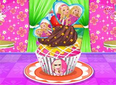 Cupcakes Decorados con Barbie
